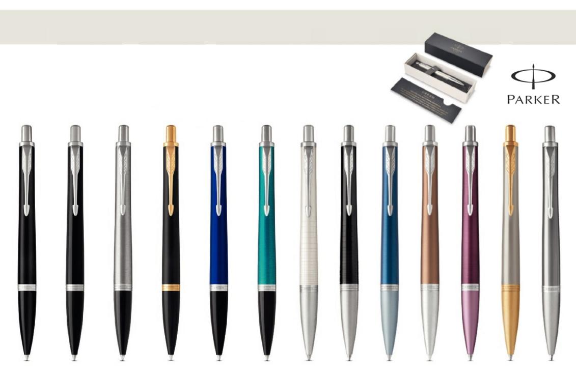 Zīmola Parker pildspalvas