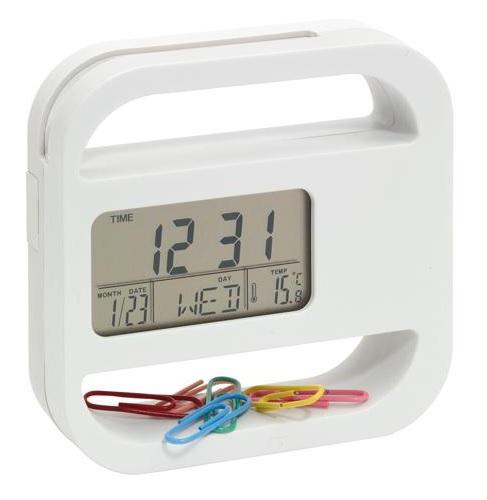 Digitālais galda pulkstenis