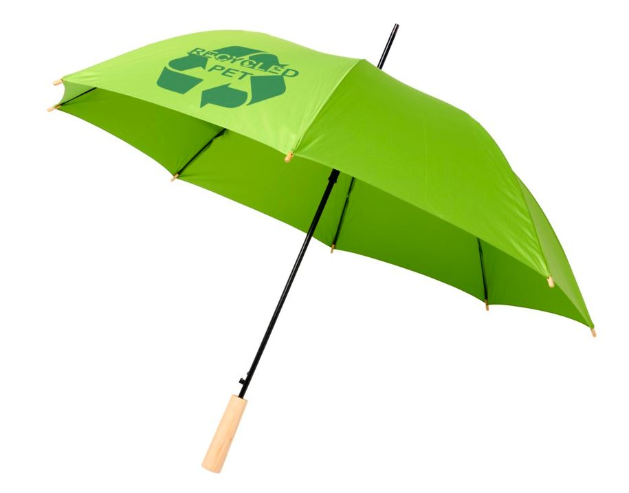 Auto open recycled PET umbrella-Alina