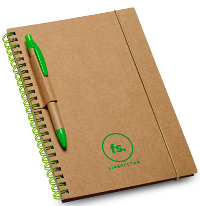 Cardboard notepad
