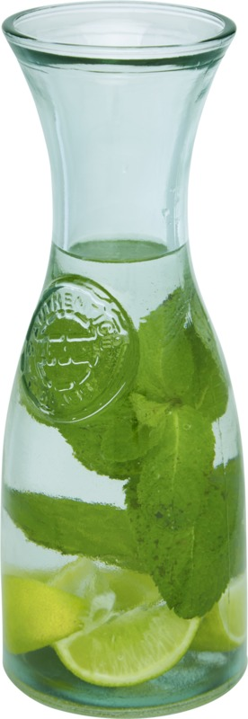 Vintage 800 ml recycled glass carafe