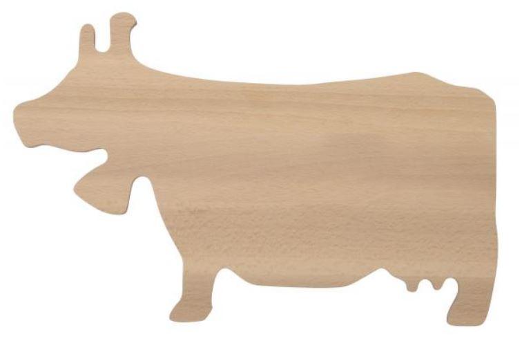 CUTTING BOARD COW SHAPE