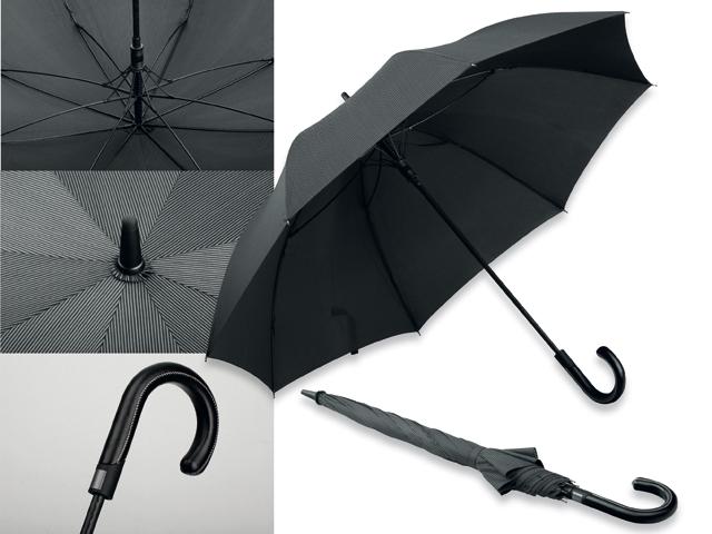 "Umbrella ""Silvan stripe"" with logo"