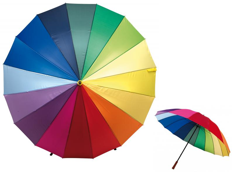"Umbrella ""Rainbow Sky"""