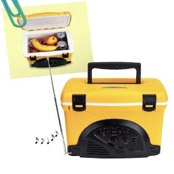 Piknika Termo lāde + radio