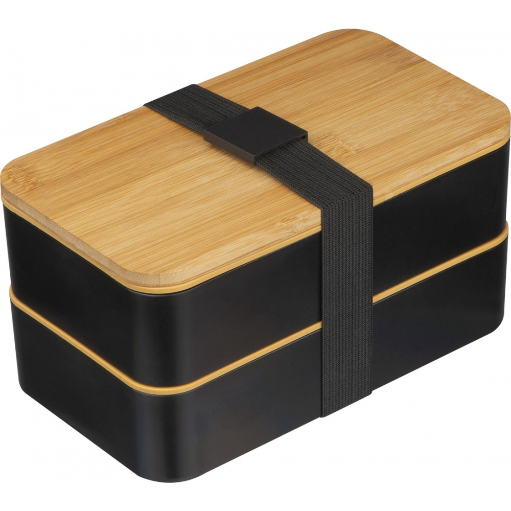 Eco-friendly 2-Level wheatstraw lunchbox