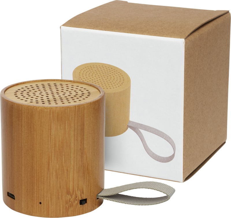 Lako bamboo Bluetooth  speaker with logo