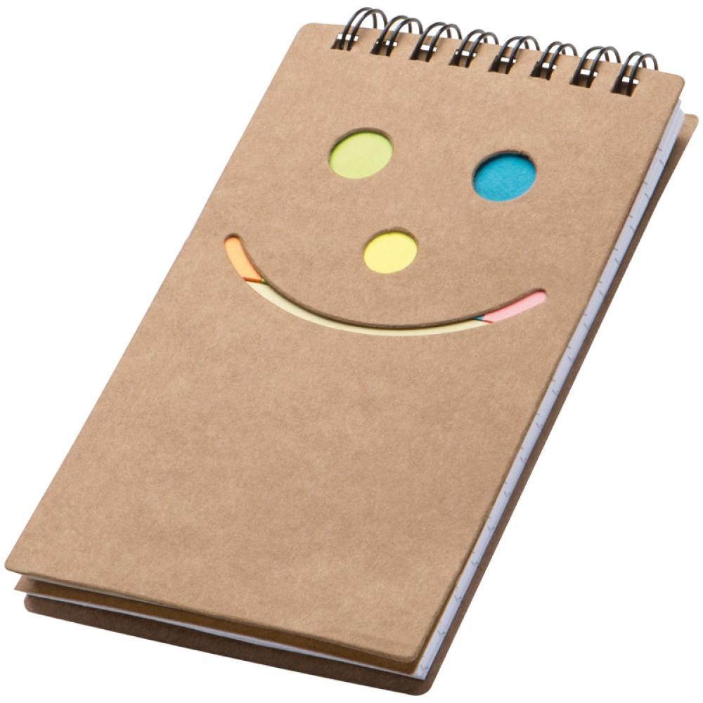 """Pierakstu blociņš ar līmlapiņām """"Smile"""""""