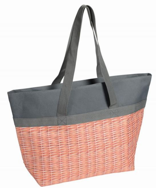 Cooler bag basket