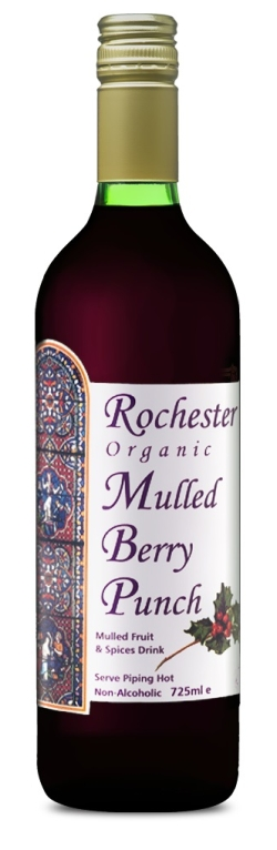 Rochester Organic Mulled Berry Punch, 725ml