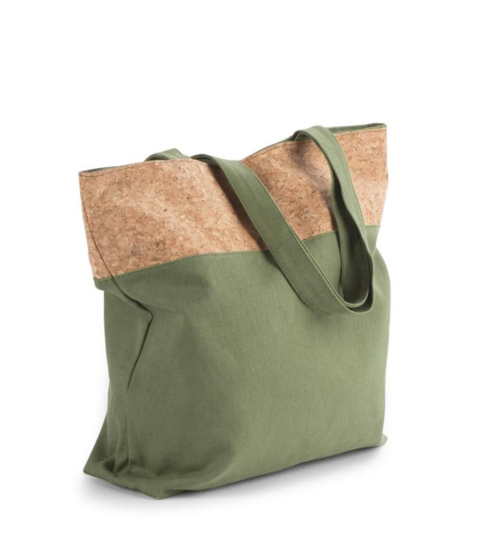 Stilīga kokvilnas Eko soma ar korķa apdari-Korkki. Jaunums 2020!