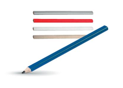 Celtniecības zīmulis ar logo