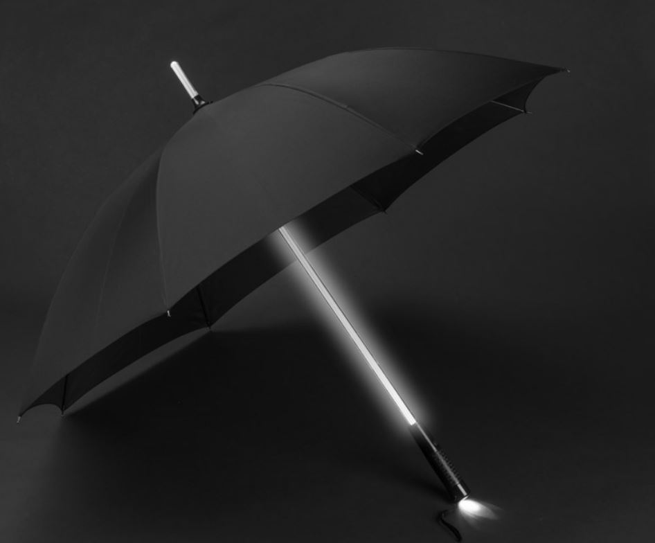 Umbrella RAIO  with a flash light