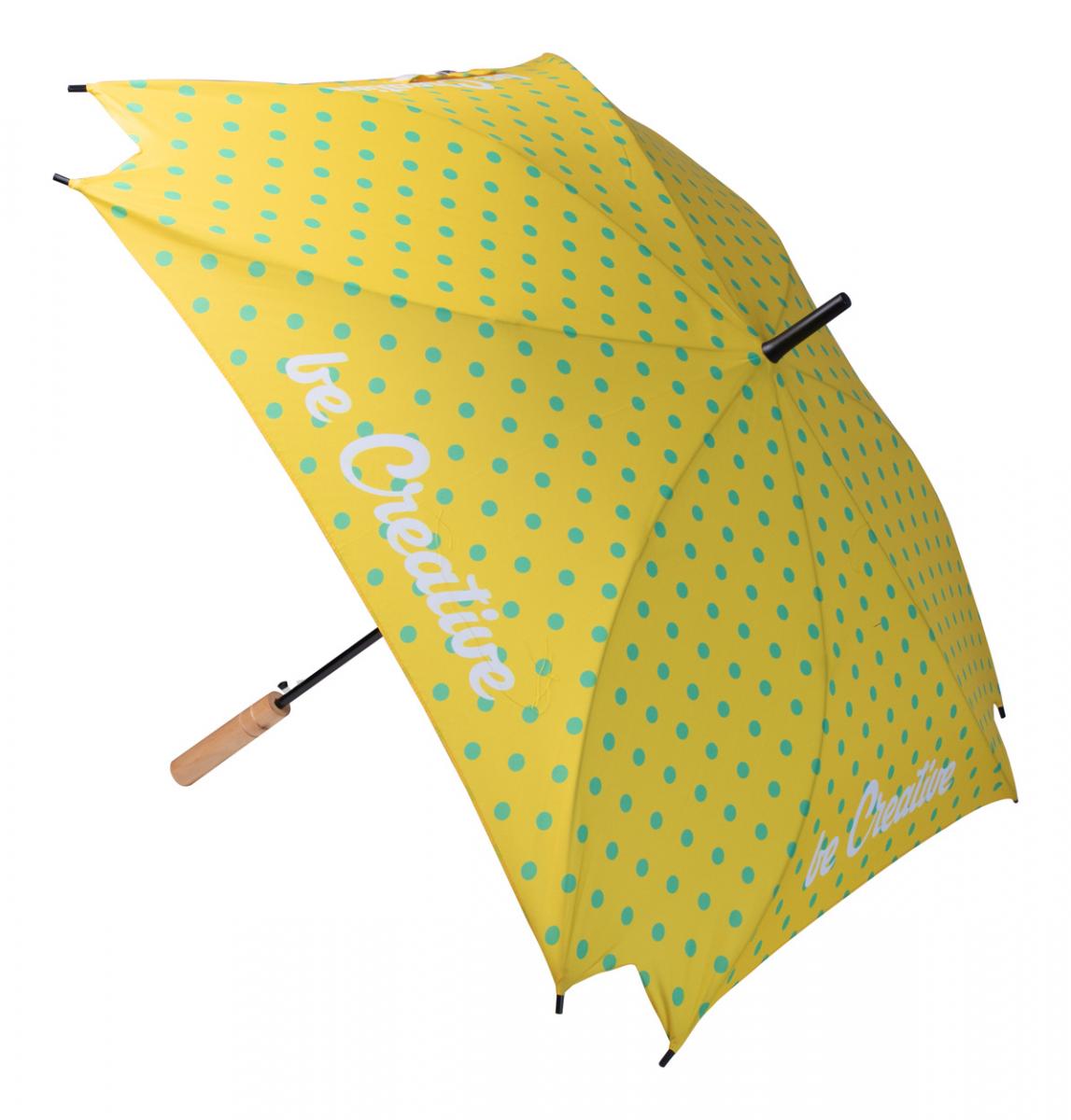 CreaRain Square RPET custom umbrella