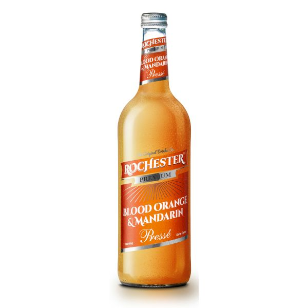 Rochester Premium Blood Orrange & Mandarin sparkling drink, 750ml