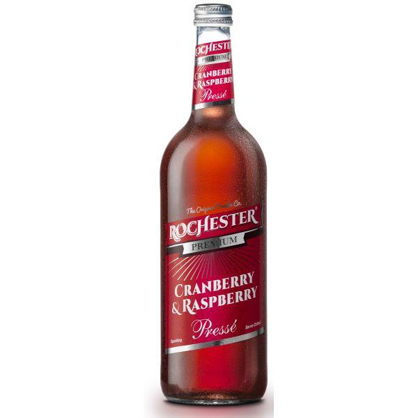 Rochester Premium Cranberry & Raspbery sparkling drink, 750ml