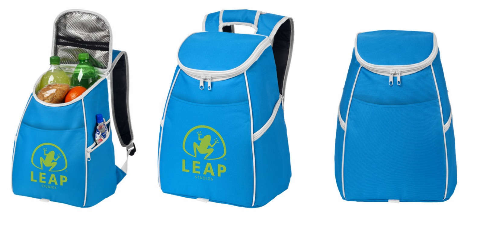 "Aukstumsoma ar logo ""Aqua blue"""