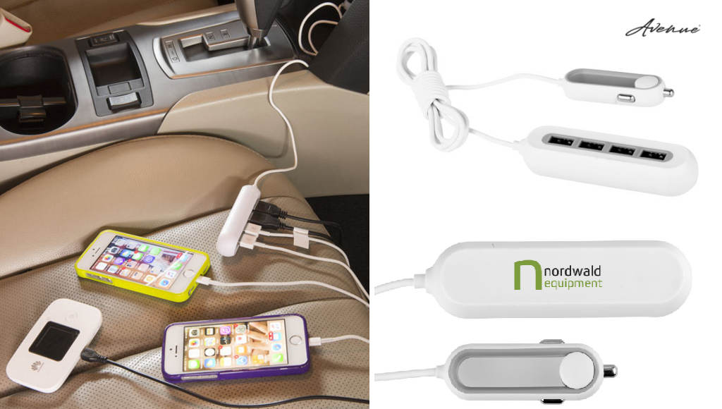 Four Port USB Car Charger