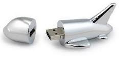 USB zibatmiņa - lidmašīna