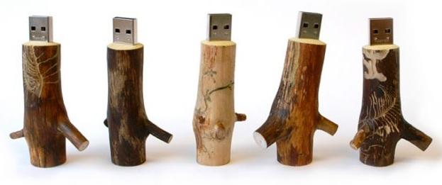 Koka USB - zariņi