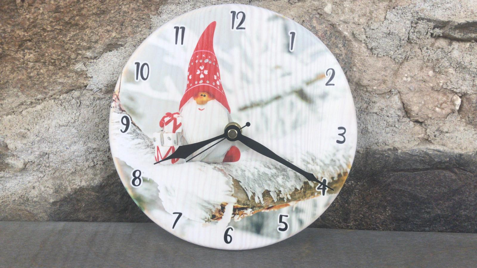 Clock with individual design and your logo